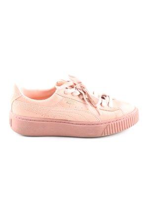 Puma Skaterschuhe pink Casual-Look
