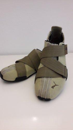 Puma Basket hook-and-loop fastener kaki