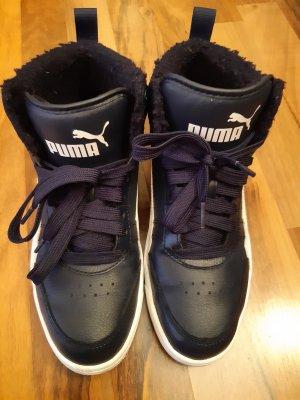 Wedge Sneaker blue