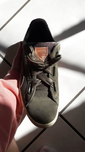 Puma Wedge Sneaker green grey-khaki