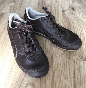 Puma Slip-on Sneakers beige-dark brown