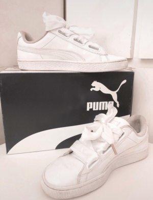 Puma Sneakresy na obcasie biały