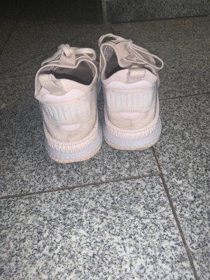 Puma Instapsneakers stoffig roze
