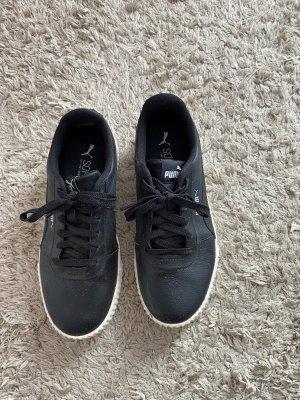 Puma Lace-Up Sneaker black-white
