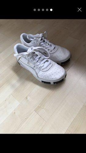 Puma High Top Sneaker white-black