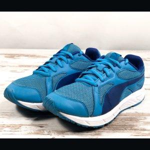 PUMA Sneaker Gr. 37 blau Sportschuhe Turnschuhe