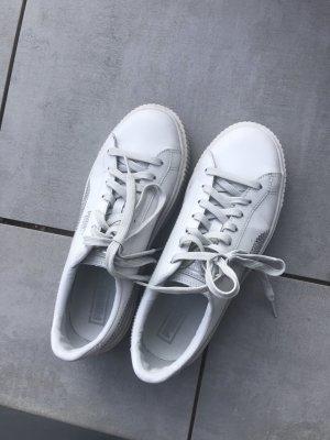 Puma Sneaker Grau mit Pailletten