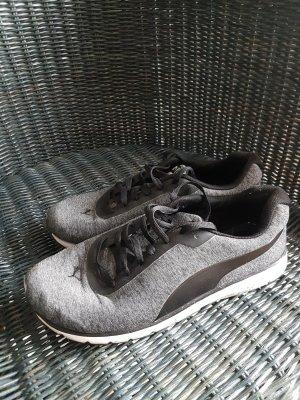 puma sneaker grau schwarz