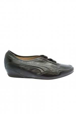 Puma Sneaker Klettverschluss schwarz Casual-Look