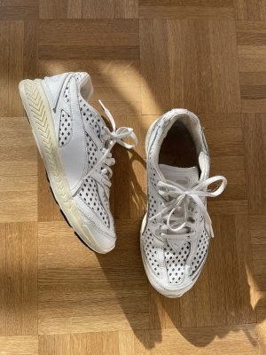 Puma Sneaker, Leder, grau