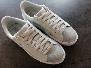 Puma Sneaker mintfarbend mit silberner Spitze (40)