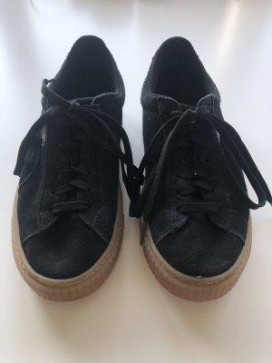 PUMA Sneaker mit Strasstein schwarz