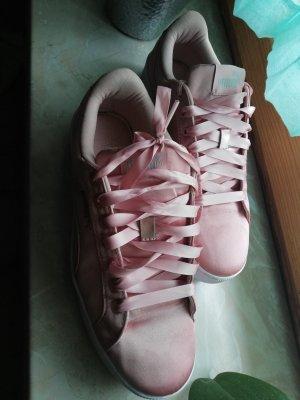 Puma Zapatillas altas color rosa dorado-rosa