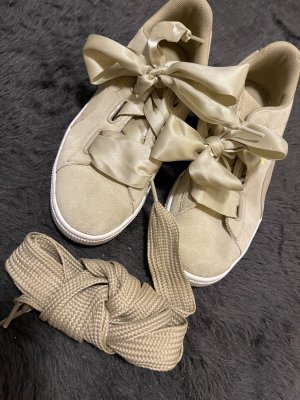 Puma Sneaker Suede Heart beige 41