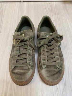 Puma Sneaker Suede Platform Satin