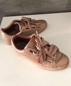 Puma Sneaker Turnschuhe Schuhe Roségold 39