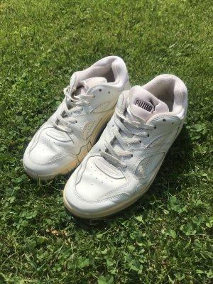 Puma Sneaker, Vintage, Retro, weiß, Gr 6 1/2, Gr 37