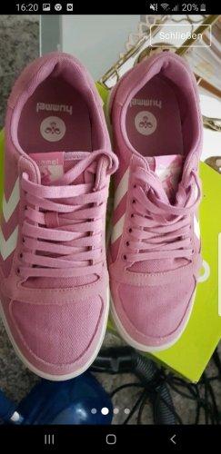 Puma High top sneaker stoffig roze-roze