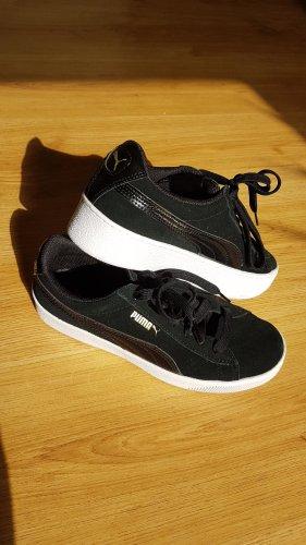 Puma Basket montante noir