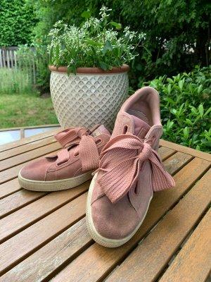 PUMA Sneakers, Gr. 41, rosa, mit breiter Schnürung