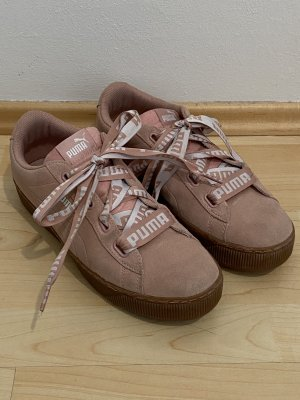 Puma Sneakers Gr.42 rosa Schuhe Vikky Platform