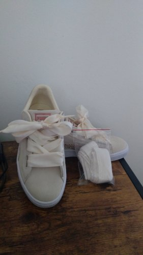 Puma Sneaker alta crema