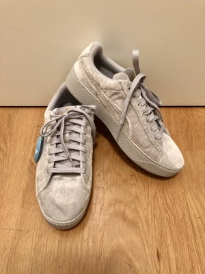 Puma Soft-Foam in samt/grau in 38 (nagelneu)