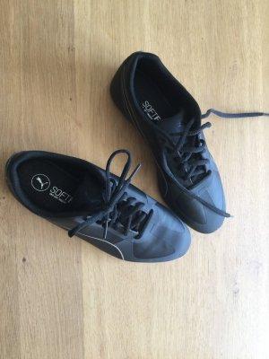 Puma Softfoam Sport Schuhe Turnschuhe schwarz 37