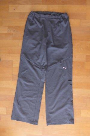 Puma Sport Jogginghose grau rosa Gr. XS 34/36