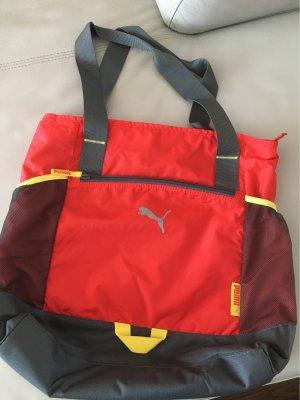 Puma Sac de sport multicolore viscose