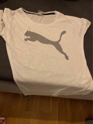 Puma Sportshirt wit-zwart