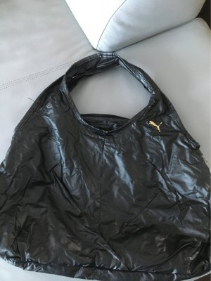 Puma Sports Bag black-gold-colored