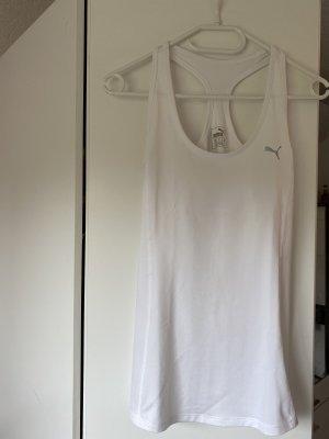 Puma Camiseta sin mangas blanco