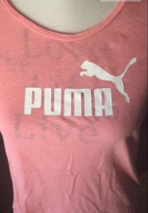 Puma Sportshirt framboosrood Katoen