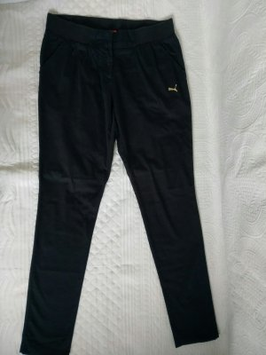 Puma Jersey Pants black cotton