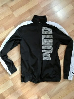Puma Sweatjack zwart Polyamide