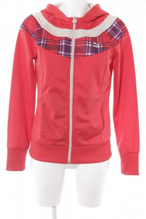 Puma Sportjacke Karomuster Casual-Look