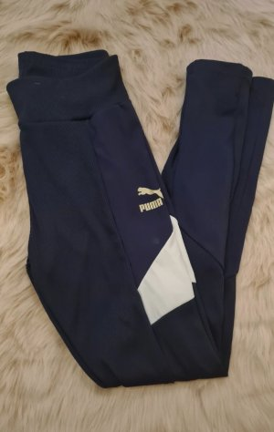 Puma Sportlegging Sporthose XS S neu blau
