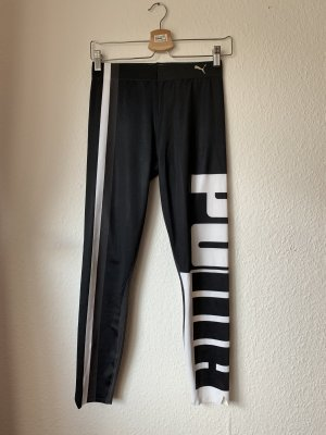 Puma Legging zwart-wit