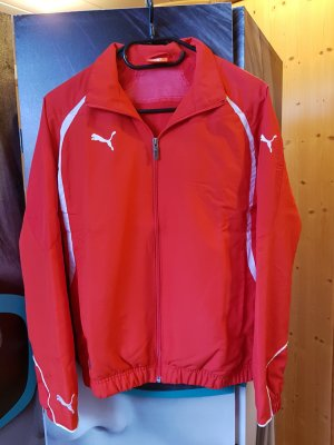 ♥ PUMA - sportliche Damenjacke in knalligem rot ♥ Gr. 34 XS