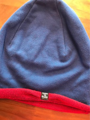 Puma Knitted Hat steel blue-carmine