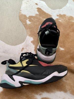 Puma Sneaker con tacco nero