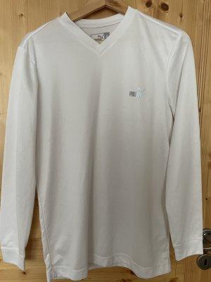 Puma Sweat Shirt white polyester