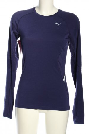 Puma Sports Shirt blue athletic style