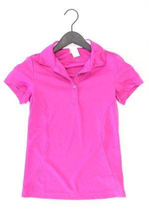 Puma Sportshirt Größe 34 Kurzarm lila aus Polyester