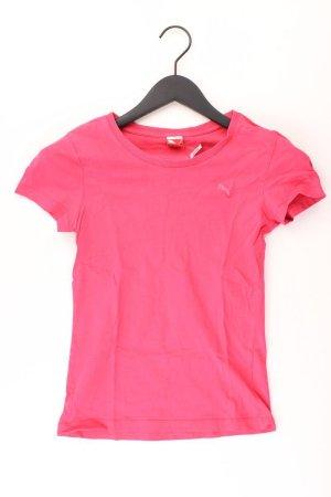 Puma Sportshirt Größe 34 Kurzarm pink aus Baumwolle