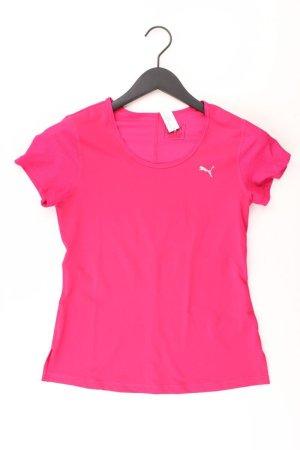Puma Sportshirt Größe 34 Kurzarm pink aus Polyester