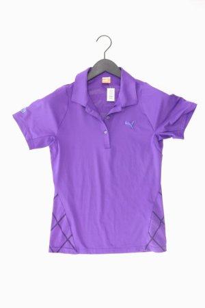 Puma Sportshirt Größe 36 Kurzarm lila
