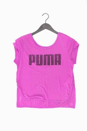 Puma Sportshirt Größe 40 Kurzarm lila
