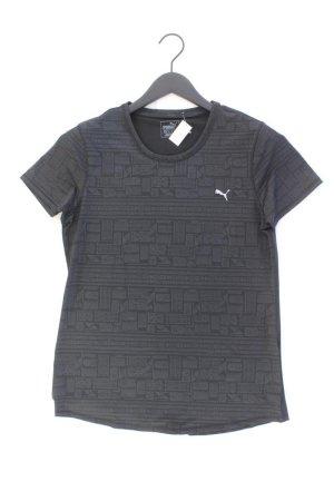 Puma Sportshirt Größe 42 Kurzarm schwarz aus Polyester